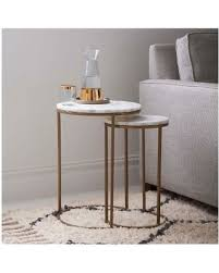 on sale now 14 off west elm round nesting side table marble