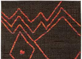 Red And Orange Rug Global Rugs Woodwaves