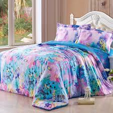 Pink Full Size Comforter Aqua Blue And Pink Ocean Wonders Themed Cute Marine Life Fish