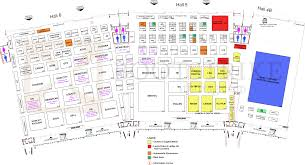 floor plan map full hall 4b hall 5 hall 6 singapore expo sitex
