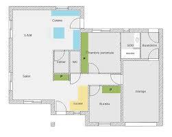 plan maison 80m2 3 chambres de maison 80m2