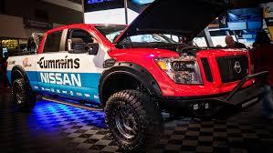 nissan titan australia for sale 2015 sema show 2016 nissan titan xd measured for success live