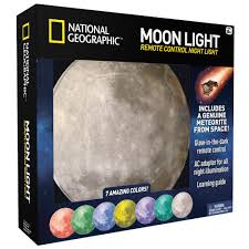 kids night light with timer amazon com national geographic moon night light for children with