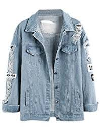 Light Denim Jacket Womens Denim Jackets Amazon Com