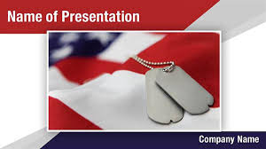 military dog tags powerpoint templates military dog tags
