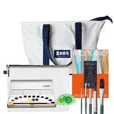 Urban Travel Messenger Bag Folding Chair Combination Art Travel Sets Art Sets For Artists Jerry U0027s Artarama