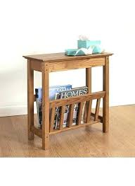 Thin Coffee Table Thin Side Table Thin Coffee Table Narrow Side Table With Magazine