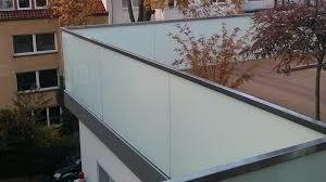 glas balkon balkon aus glas der glaserei glasart aus hannover kaufen