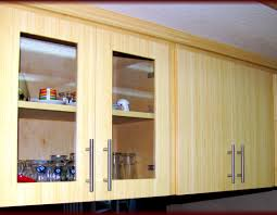 Adding Kitchen Cabinets How To Add Glass To Kitchen Cabinet Doors Gallery Glass Door