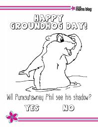 10 sweet stories groundhog printables