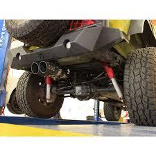jeep stock exhaust afe power rebel series 2 5