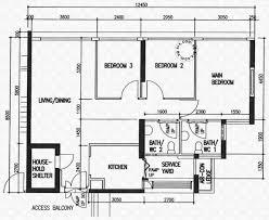 floor plans for edgefield plains hdb details srx property