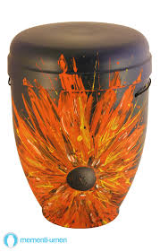 funeral urns for sale bb3326 heart of flowers funeral urn bright bold design