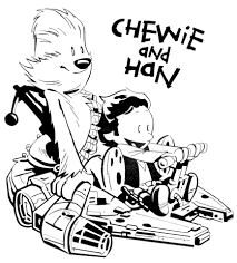 chewie han solo franciscomd deviantart