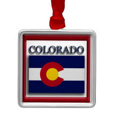 colorado state flag ornaments keepsake ornaments zazzle