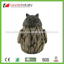 Statue For Garden Decor China 2017 New Hedgehog Decorative Statue Figurine Brown Color