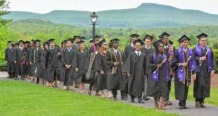 amherst college amherst college graduates excited but nervous