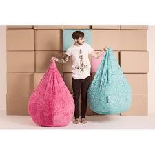 sittingpoint fluffy bean bag chair u0026 reviews wayfair ca