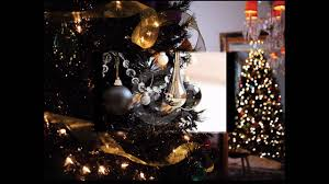 black christmas trees black christmas tree decorations