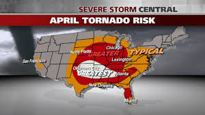 Florida Tornado Map by Your Tornado Risk By Month The Weather Channel