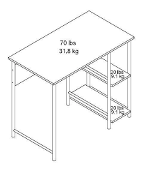 Mainstays Student Desk Instructions Mainstays Basic Metal Student Desk Multiple Colors Walmart Com