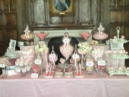 candy table for wedding wedding candy buffet in vintage pink candy buffets l sweetie