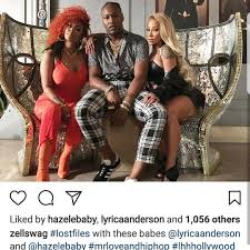 lyrica anderson exclusive we have behind the scene pics from love and hip hop