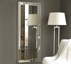 jewlery armoire mirror wall mounted mirrored jewelry armoire inovodecor com