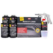 Rustoleum Bed Liner Kit Truck Bed Liner Paint In Bundled Kit Components Thinner Reducer
