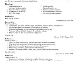 cosmetologist resume cosmetology resume resume sles for cosmetologist