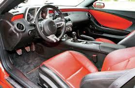 2010 camaro interior 2010 chevrolet camaro rs ss orange crush