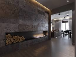 Fireplace Surround Ideas Chic Linear Fireplace Ideas U2013 Modern Fireplaces With Great Visual