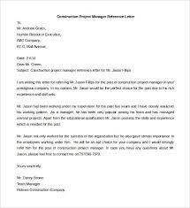 letter of recommendation sample for project manager compudocs us