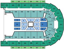 Stadium Floor Plan by Seating Charts Boardwalk Hall