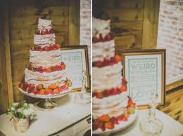 Wedding Cake No Icing Layer Cake Wedding Style Inspiration Lane