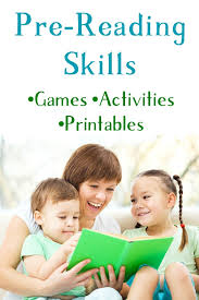 pre reading printables activities and games for kids pre