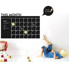 blackboard wall stickers this month schedule timetable diy blackboard wall stickers this month schedule timetable diy calendar wall decal home decor