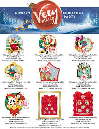 mickey u0027s merry christmas party 2015 pins dpb