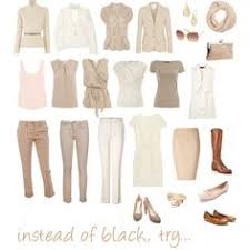 neutral colors clothing instead of black try by pinz824 on polyvore clothes