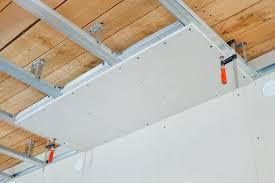 Faux Plafond Salle De Bain by Prix Pour La Pose D U0027un Faux Plafond Tendu Ou Suspendu
