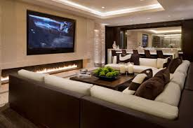family room design ideas with tv decoration basement beautiful