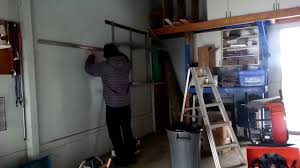 garage organizing with rubbermaid fasttrack youtube