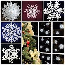 the diy pretty paper snowflake ornaments for