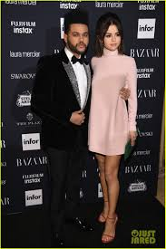selena gomez u0026 the weeknd make rare red carpet appearance at