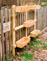 Patio Planter Box Plans by Creative Diy Vertical Wood Garden Planter Boxes Mounted On The