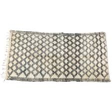 Moroccan Rug Runner Beni Ouarain Shaggy Moroccan Rug North Africa For Sale At 1stdibs