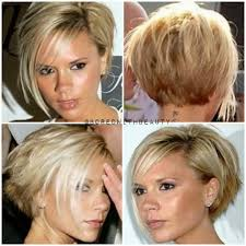 short hairstyles longer in front shorter in back bob hairstyles long in front short in back back view of cute short