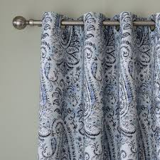 Blue Paisley Curtains Extremely Inspiration Blue Paisley Curtains Chadmade Curtains Ideas