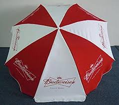 Budweiser Patio Umbrella Budweiser Bud Logo Large Style Umbrella