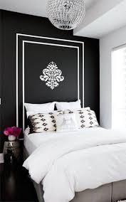 Black And White Bedroom Ideas In Home Interior Design With - Damask bedroom ideas
